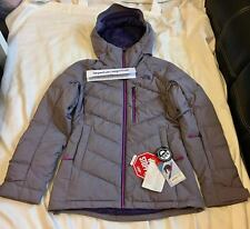 """The North Face TNF Women's """"Steep Series"""" 700 Fill Down Jacket Grey Size S M"""