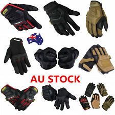 AU Tactical Gloves Military Army Airsoft Hunting Paintball Full Finger Gloves