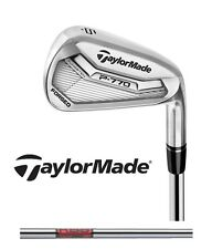"New 2017 Taylormade Golf P 770 Tour Irons P770 Set KBS Tour 2* Upright -1"" Short"