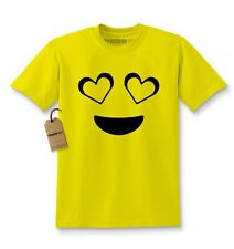 Kids Emoji Smiley Face Emoticon T-shirt Collection