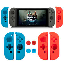 Anti-slip Silicone Cover Thumb Grip Caps for Nintendo Switch Joy-Con Controller