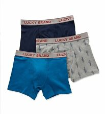 Lucky 171PB07 Cotton Stretch Boxer Briefs - 3 Pack