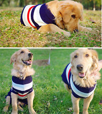 Large Dog Sweater Puppy Pet Coat Clothes for shepher husky Labrador Bulldog Dog