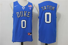 Jayson Tatum #0 NCAA Duke Blue Devils Retro Stitched Basketball Jersey S - 2XL