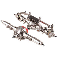CNC Aluminum F&R Axle Completed Assembly For RC 1:10 Axial SCX10 AX90044 AX90028