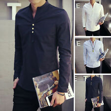 4 colors Mens Luxury Stylish Long Sleeve Dress Shirts Slim Fit Casual Shirts