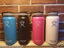 32oz/40oz/64 Hydro Flask Wide Mouth Insulated Stainless Steel Water Bottle