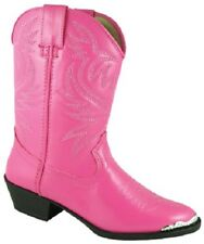 NEW! Smoky Mountain Boots - Toddler - Mesquite - Toe Rand - Western Cowboy Pink