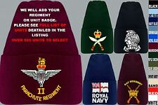 UNITS R -S UK & FOREIGN ARMY ROYAL AIR FORCE NAVY RAF REGIMENT BEANIE WOOLLY HAT