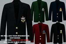 """UNIT S-Z ARMY ROYAL NAVY AIR FORCE MENS LADIES REGIMENT BLAZER BUTTONS TO 52"""""""
