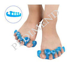 PEDIMEND Silicone Gel OPEN TOE SEPARATOR & SPACER - Prevent Overlapping Toes