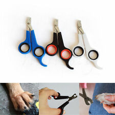 Pet Dog Cat Grooming Nail Toe Claw Clippers Scissors Trimmer Groomer Cutter