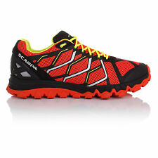 Scarpa Proton Alpine Mens Red Black Sneakers Running Sports Shoes Trainers