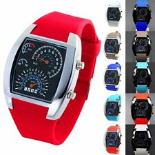 New Luxury LED Date Unisex Womens Mens Digital Quartz Sport Wrist Watch