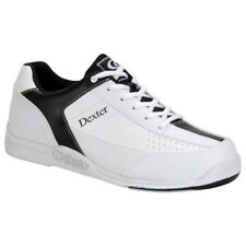 Dexter Ricky III Jr White/Black Boys Bowling Shoes