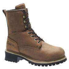 Men's Wolverine® Snyder Logger Steel-Toe Waterproof Insulated Med Work Boots Sz