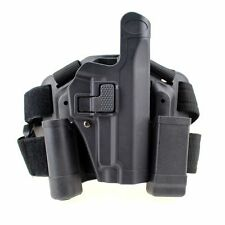 Tactical Level 2 Right Leg Thigh Holster Magazine Torch Pouch for SIG SAUER P226