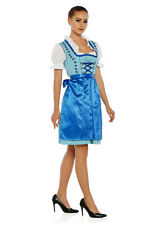 1304 - 3 pc Dirndl Dress Trachten Oktoberfest 4,6,8,10,12,14,16,18,20,22
