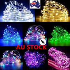 AU 5M - 20M 5V USB LED Copper Wire String Lights Fairy Lights Garden Party Decor