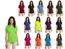 S - 4XL Port Authority Ladies Silk Touch Performance Polo. L540 Wicking Golf