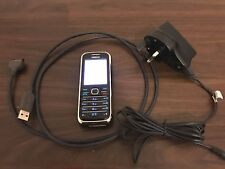 Nokia 6233 - Black Mobile Phone with accessories