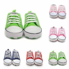 Infant Baby Toddler Soft Sole Sneakers Boy Girl Casual Crib Shoes Prewalker New