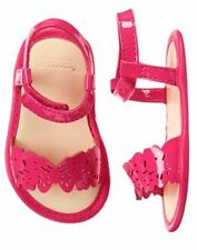 NWT Gymboree Sunset Glow butterfly Crib Shoes Sandals Baby Girl Infant 2,3,4