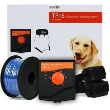 Waterproof Electric Dog Fence System Hidden Fencing Collar Containment Enclosure