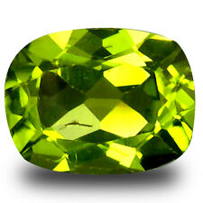 2.16 ct Superb Cushion Shape (9 x 7 mm) Pakistan Green Peridot  Natural Gemstone
