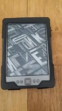 Amazon Kindle 2GB, Wi-Fi, 6in - Graphite model D01100 with black genuine leather