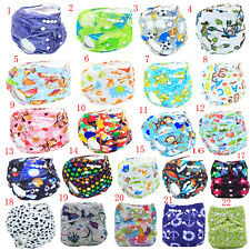 Kid Baby Washable Diaper Cover Reusable Waterproof Pocket Nappy Cover Cloth Wrap