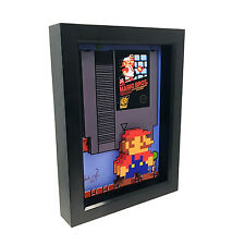 Super Mario Bros Nintendo 3D Art Video Game Poster Print Cartridge NES Classic