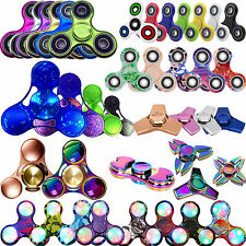 3D FIDGET SPINNER Finger Spinner EDC ADHD Hand Mind Focus Spin Relieve Stress