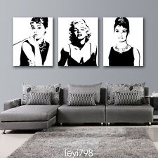 HD Print on Canvas Painting Home Decoration Wall Art Portrait Marilyn Monroe