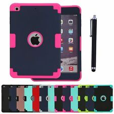 Heavy Duty Tough Protective Shock Proof Cover Case for iPad mini 1 2 3 4