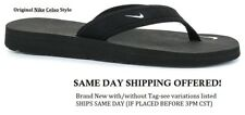 NEW NIKE CELSO THONG BLACK FLIP FLOP WOMEN SZ 7,8,9 -SHIPS TODAY