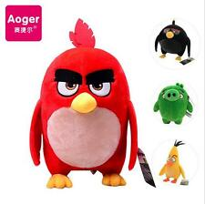 OFFICIAL NEW 18-38CM ANGRY BIRD FROM ANGRY BIRDS THE MOVIE PLUSH SOFT TOY GIFT