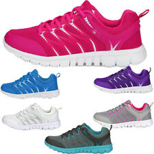 New Womens Sport Shoes Breathable Sneakers Running Athletic Platform Mesh Shoes