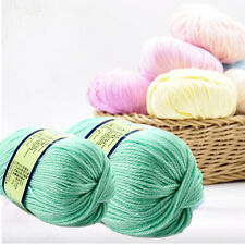 50g Worsted Sweater Yarn Soft Wool Cashmere Knitted Baby Handcraft Yarn On Sale