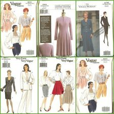 OOP Vogue Sewing Pattern Misses Plus Size 18 20 22 You Pick
