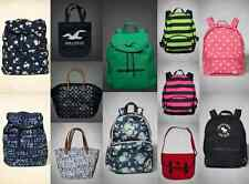 NWT A /Fitch Hollister Womens  & Girls Backpack School Bag Tote Messenger