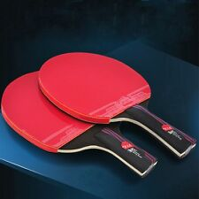 1 PC Training Carbon Fiber Ping Pong Paddle With Bag Table Tennis Racket Bat