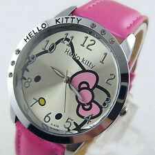 Lovely Cute hello KT Girls Ladies Wrist Quartz Watch Nice Kid's gift hellokitty