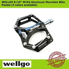 """WELLGO 9/16"""" M194 Aluminum MTB Mountain Bike Pedals for Cycling (4 color types)"""