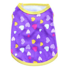 Small Medium Dog Clothes Pet Puppy Shirt Cat Vest Clothing for chihuahua teacup