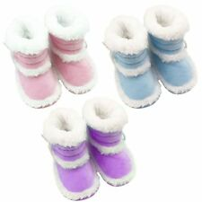 0-18 months Toddler Booties Girls Boy Soft Sole Baby Boots Crib Infant Shoes New