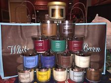 *SALE* Bath Body Works TEST CANDLES Choice of 1 2 or 3 Sundress Hot Cocoa Birch
