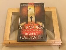 The Silkworm by Robert Galbraith/ J.K Rowling SIGNED 1ST EDITION -Special,RARE.