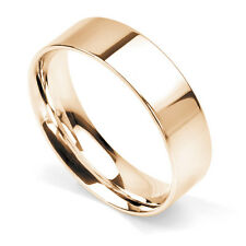 BRAND NEW 9CT ROSE GOLD FLAT COURT WEDDING RING 3MM-8MM WHOLESALE HEAVY WEIGHT