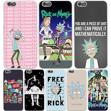 Rick and Morty Series Cartoon Movie Hard Case Cover For iPhone Samsung S8 Huawie